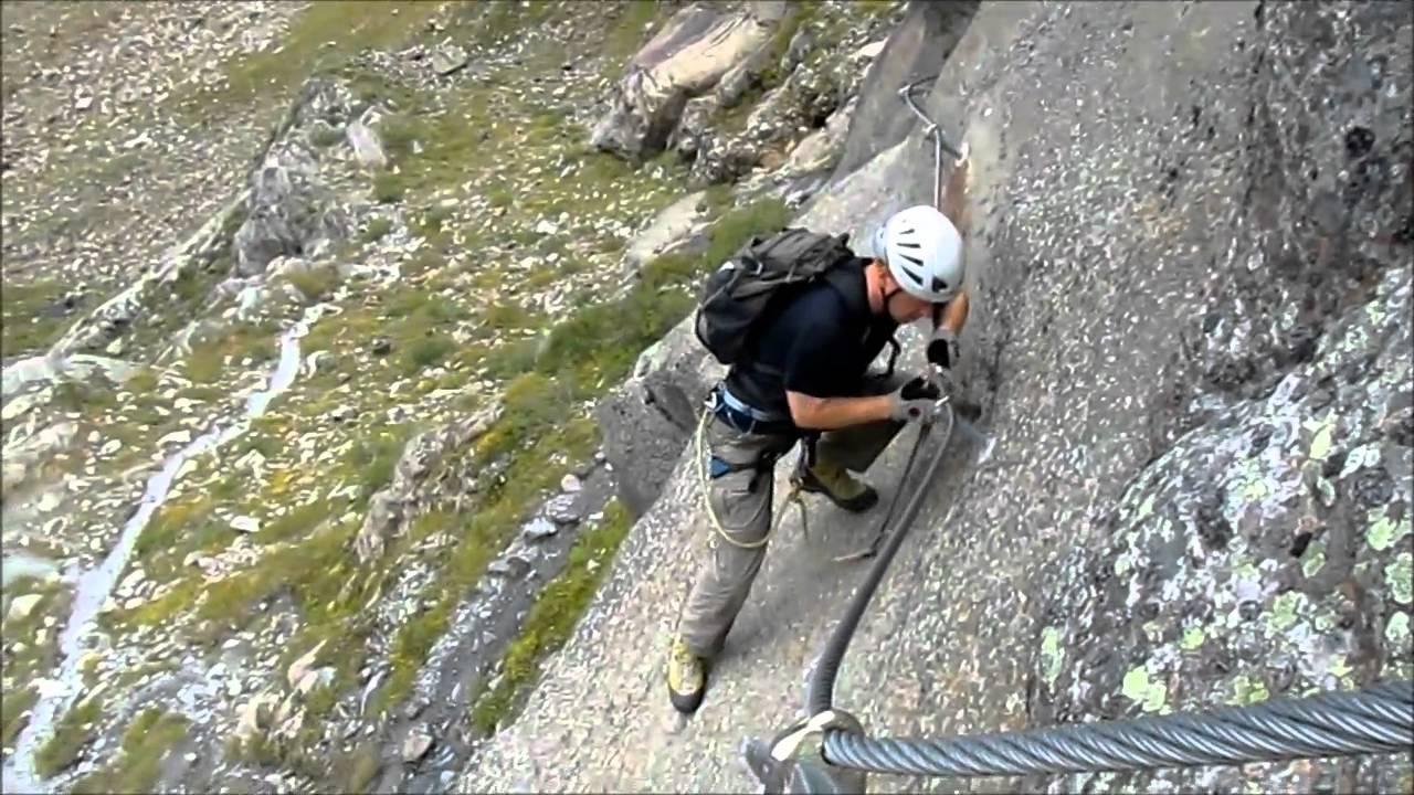 Klettersteig Oostenrijk : Klettersteig via ferrata kletterpark pitztal oostenrijk youtube
