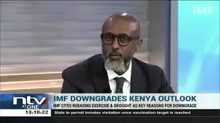 IMF downgrades Kenya's economic growth forecast