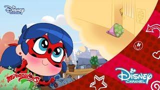 Mucize: Uğur Böceği ile Kara Kedi Chibi | 4.Bölüm Curiosity Kick The Cat | Disney Channel Türkiye