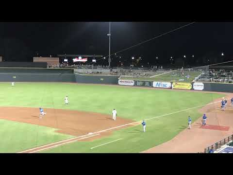 Nick Pratto Homers in a South Atlantic League Game