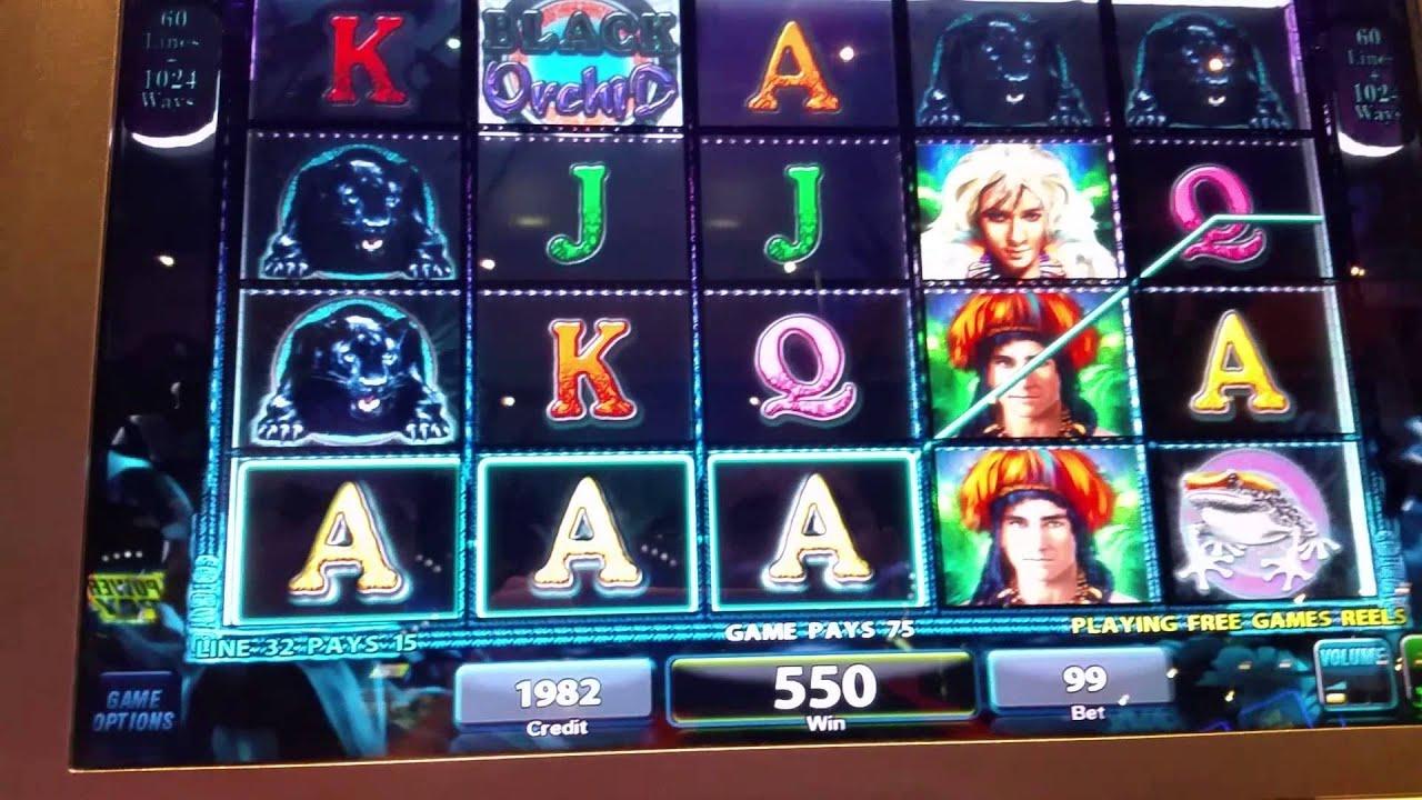 Black Orchid Slot Machine