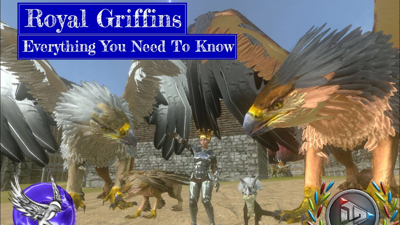 Royal Griffins: Everything You Need To Know | ARK Survival Evolved