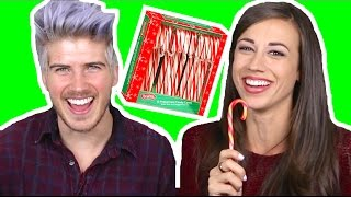 Candy Cane Challenge! w/ Joey Graceffa