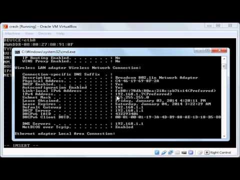 011 010  Linux startup 2  assign static IP