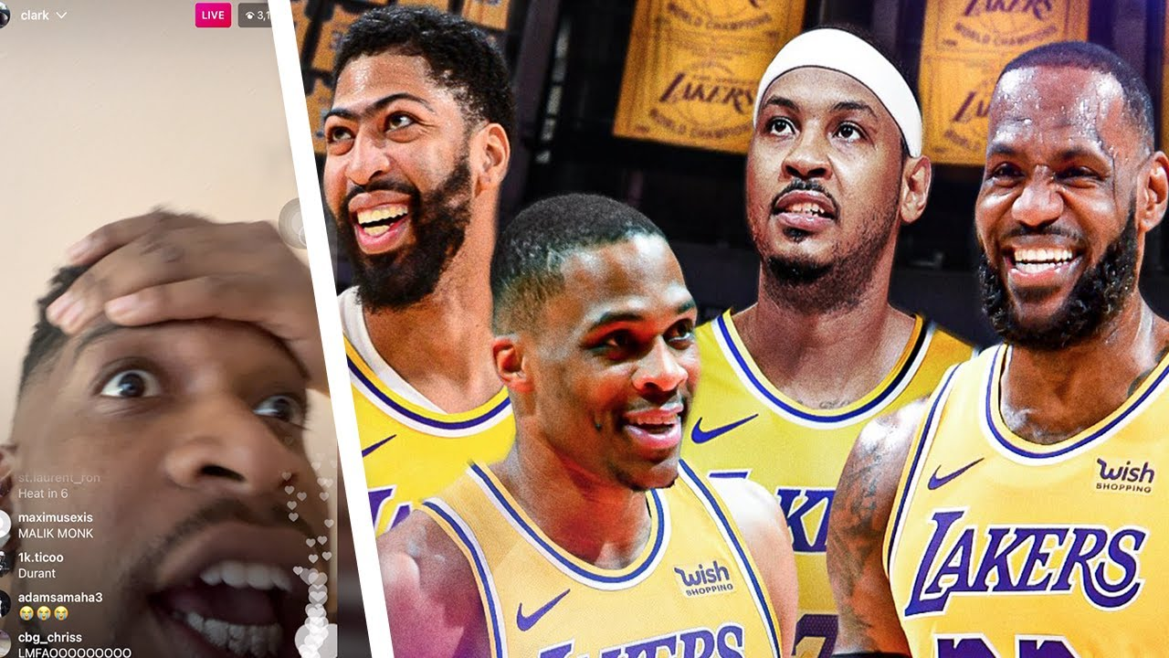 MELO JOINS LAKERS!!!! LEBRON MOST OVERPOWERED TEAM EVER!!! **3 PEAT CONFIRMED**