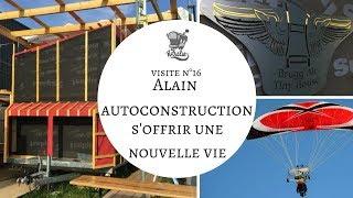 V16 : Alain Auto-construction Tiny House