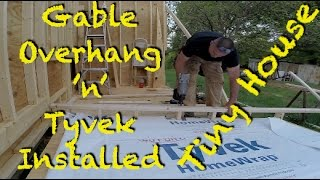 Tiny House - Gable Overhang