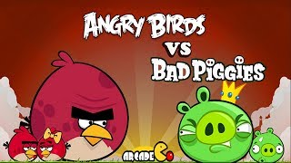 Angry Birds Vs Bad Piggies Walkthrough