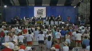 Lionel Hampton at the1988 Newport Jazz Festival