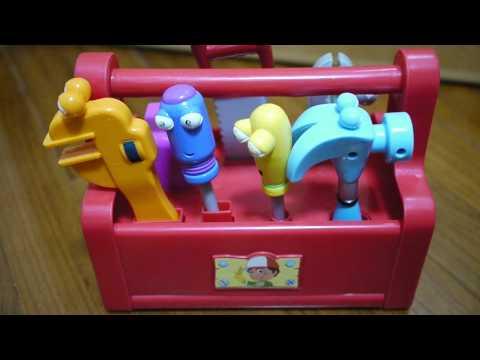 Disney Handy Manny Tool Box Play Set