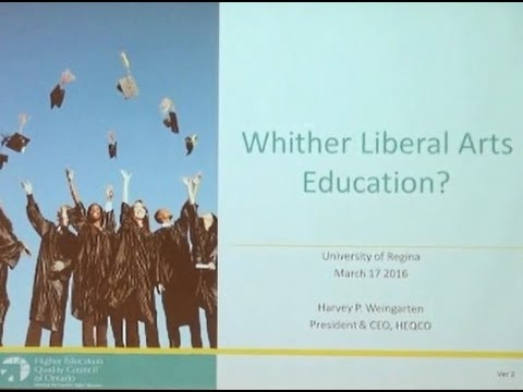 Whither Liberal Arts Education