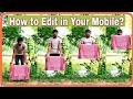 [Hindi] कपड़ा के अंदर से गायब होने का जादू सीखे? || Kinemaster Editing tutorial ||Magical Video || 1