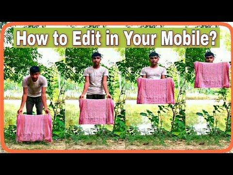 [Hindi] कपड़ा के अंदर से गायब होने का जादू सीखे?    Kinemaster Editing tutorial   Magical Video    1