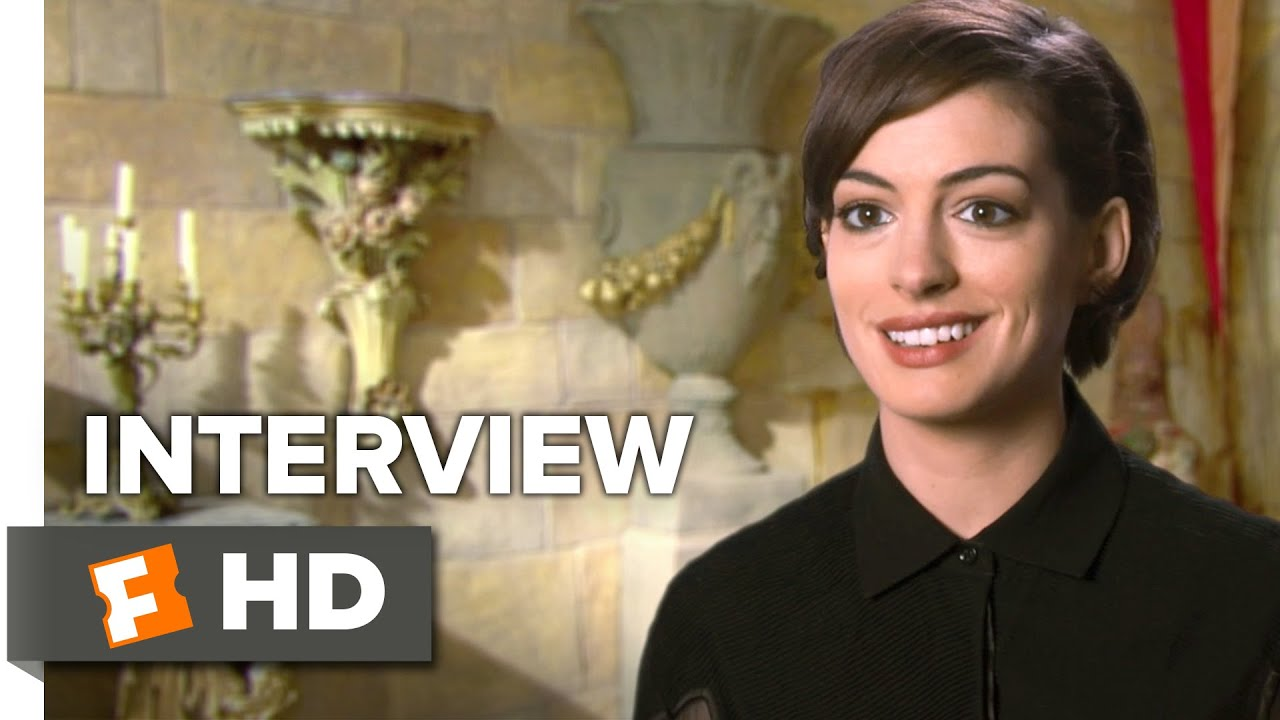 Alice Through the Looking Glass Interview - Anne Hathaway (2016) - Fantasy  Movie HD b8f57066e7fb