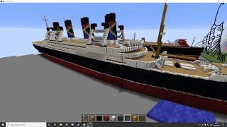 Bri & Rich's Minecraft Creative Ep 85 (Ships N Pixels)