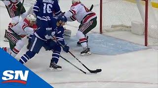 Maple Leafs' John Tavares Puts in Rebound For 300th Career Goal