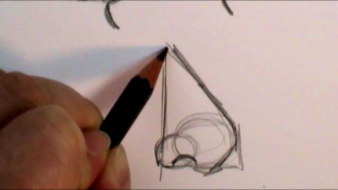 How To Draw A Profile Nose