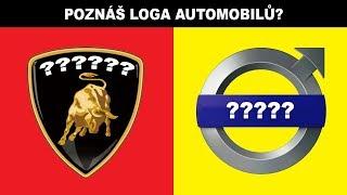 VELKÝ TEST | Poznáš loga automobilů?