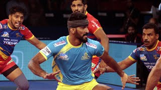 Pro Kabaddi 2018 Highlights | UP Yoddha Vs Tamil Thalaivas | Hindi
