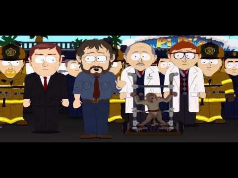 South Park Pee on Monkey