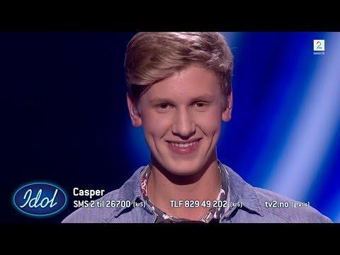 Casper beveger publikum selv om han sitter stille   Idol Norge 2018
