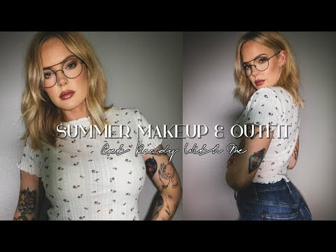 Summer Makeup For Glasses (get ready with me) // Mallory1712 thumbnail