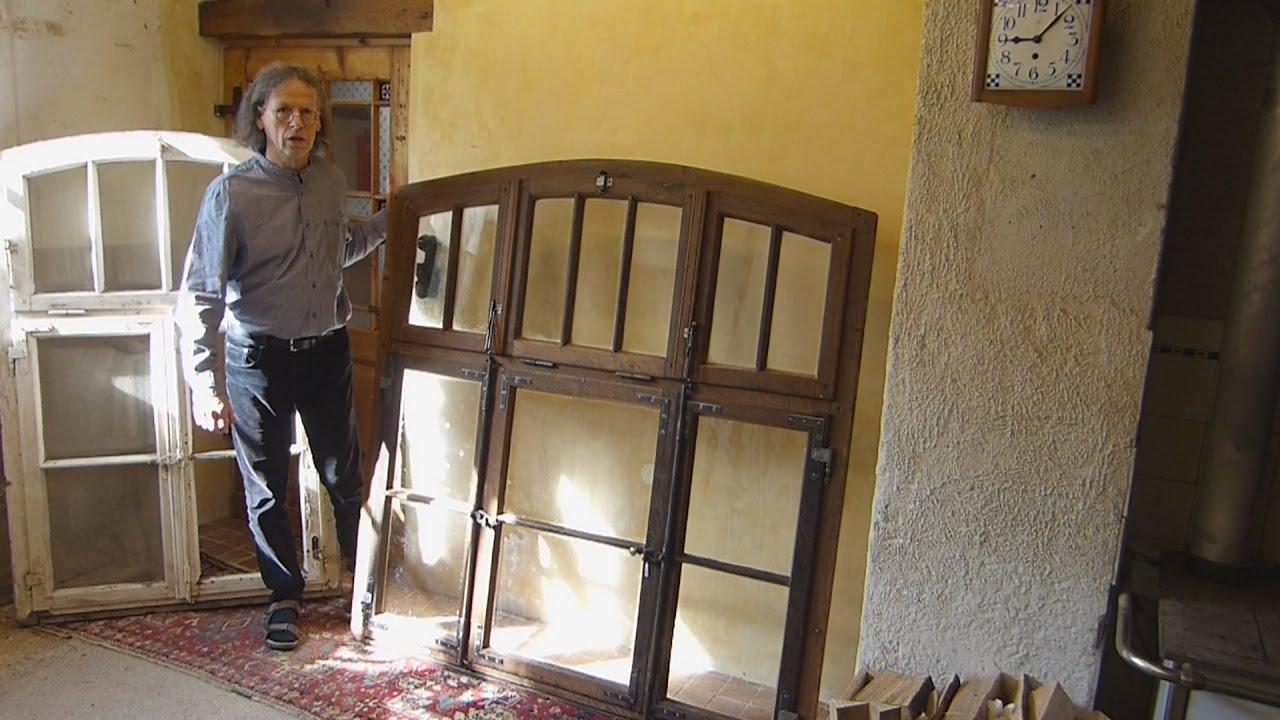Sprossenfenster Restaurieren, Farbe Von Altem Fenster