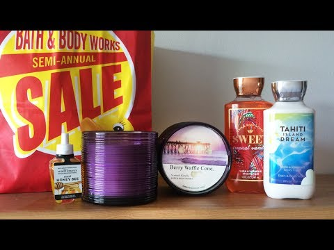 Bath & Body Works Semi-Annual Sale Haul - June 2017