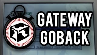 Gateway GoBack – An Advanced Recovery Tool for Windows 98 & ME (Overview & Demo)
