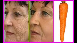 Xóa sạch nếp nhăn trên mặt và nếp nhăn vùng mắt nếu dùng cà rốt theo cách này