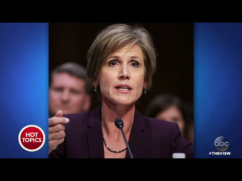 "Sally Yates: Gen. Flynn Was ""Compromised"" 