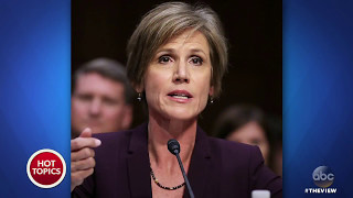 """Sally Yates: Gen. Flynn Was """"Compromised""""   The View"""