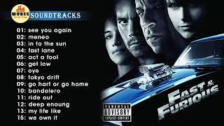 รวมเพลง Fast & Furious 1-8 | Top 15 Best Music | สถานีเพลงสากล 24 ชั่วโมง