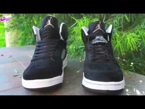 6e250438174 Jordan 5 `Oreo` Sneaker Review and On Foot with @AdamDeFresh [HD] by ...