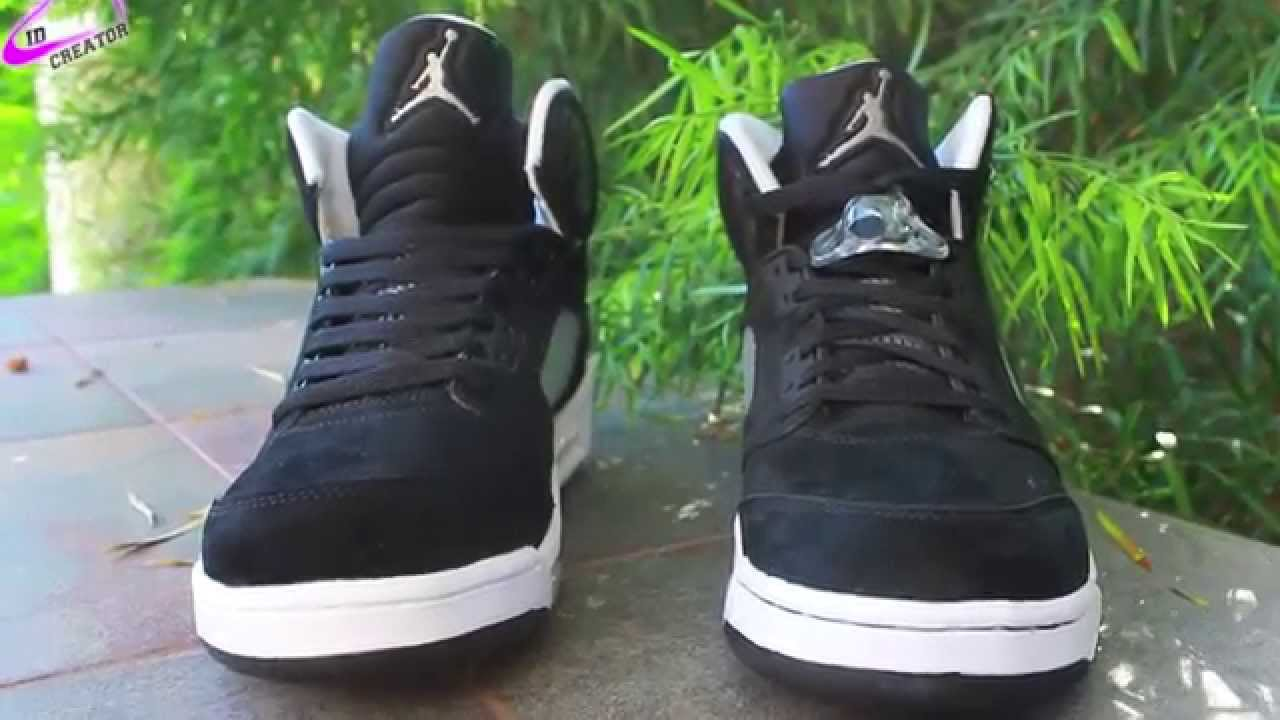 daeb1490ec0 Nike Air Jordan 5 Oreo Authentic Replica Comparison