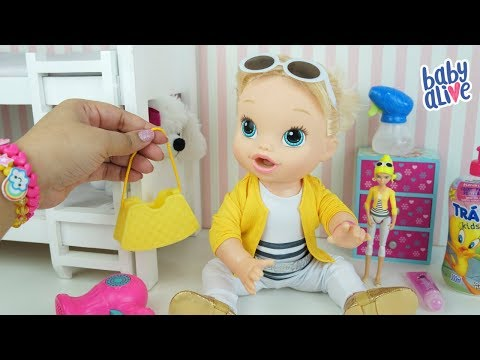 BABY ALIVE SE ARRUMANDO DE CHLÓE Miraculous As Aventuras de Ladybug