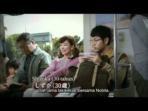 Toyota x Doraemon CM [Nobita 30years old & BBQ] Malay Sub