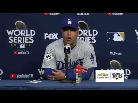 Dave Roberts Postgame Interview  Dodgers vs Astros Game 4 World Series