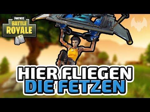 Als die Wand weg war... - ♠ Fortnite Battle Royale ♠ - Deutsch German - Dhalucard