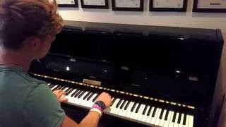 Francis and the Lights - Friends ft. Bon Iver | Tishler Piano Cover