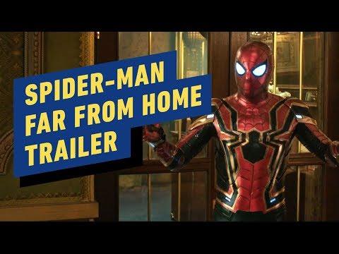 Spider-Man: Far From Home Official Trailer #2 (2019) Tom Holland, Jake Gyllenhaal, Samuel L Jackson