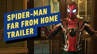 Spider-Man: Far From Home Official Trailer #2 (2019) Tom Holland, Jake Gyllenhaal, Samuel L Jackson