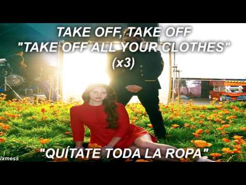 lana del rey ft. the weeknd // lust for life // lyrics español - inglés HD