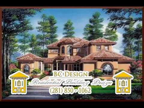Custom Home Design Houston Texas | Stock Plans | Blueprints | Bc