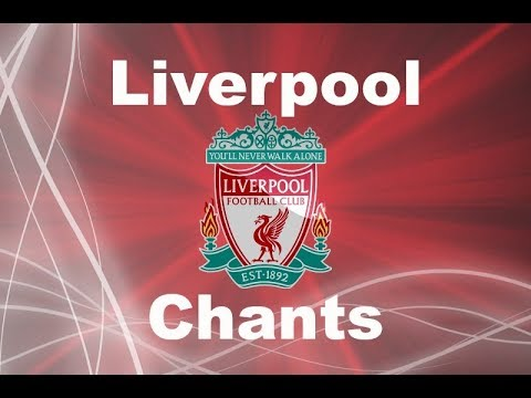 Liverpool's Best Football Chants Video | HD W/ Lyrics Ft. You Will Never Walk Alone