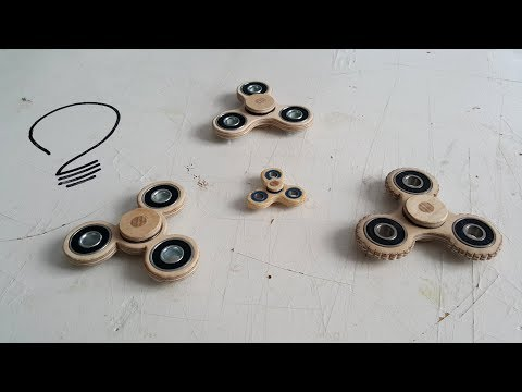 Thumbnail: Making a Fidget Spinner on the Scroll Saw