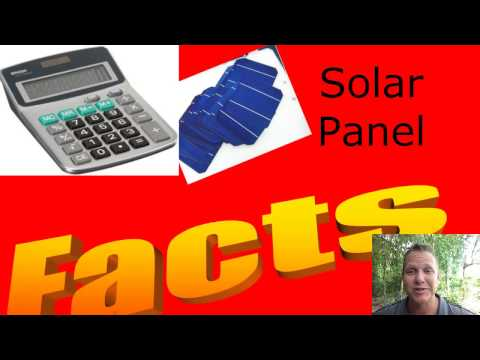 Facts About Solar Panels - How to Harness Free Solar Power from the Sun
