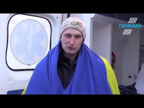 Звільнений з полону бойовиків Роман Савков дав перше інтерв'ю