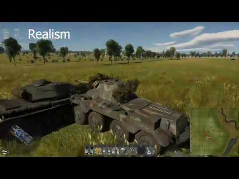War Thunder [1.91]: Physical Collisions