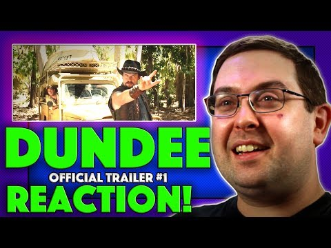 REACTION! Dundee: The Son of a Legend Returns Home 'Cast Intro' Trailer - Fake Movie 2018